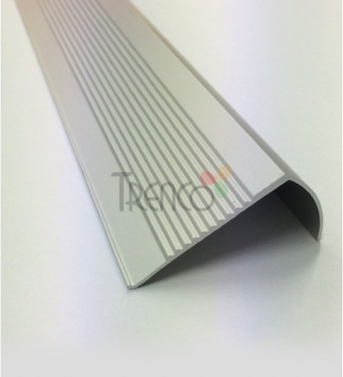 Aluminium Step Nosing with Anti-Slip